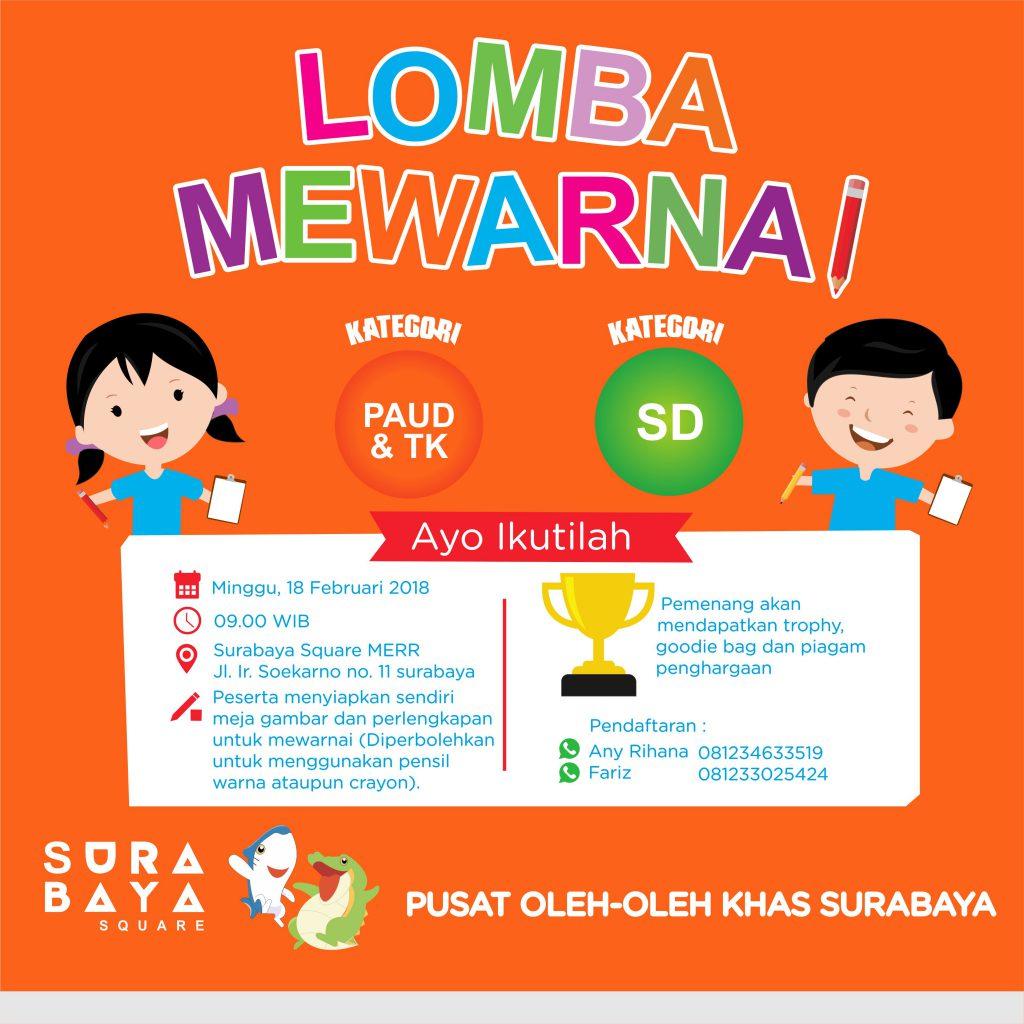 Lomba Mewarnai – Dinas Perdagangan Surabaya